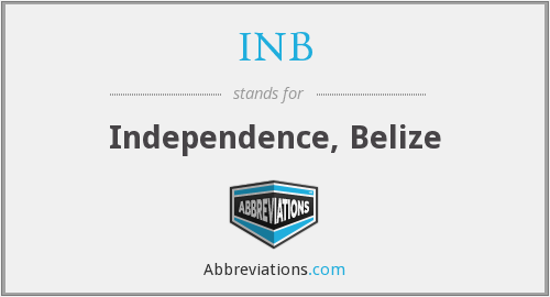 INB - Independence, Belize