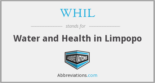 What does WHIL stand for?