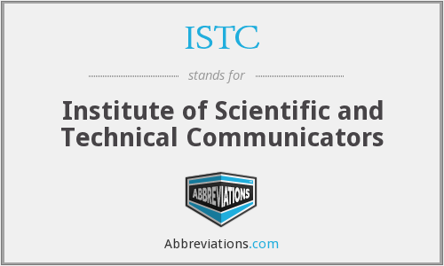 ISTC - Institute of Scientific and Technical Communicators