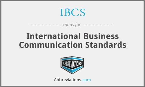 IBCS - International Business Communication Standards