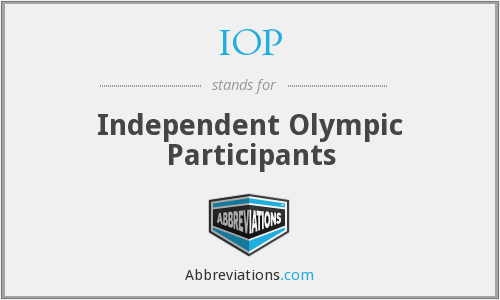 IOP - Independent Olympic Participants