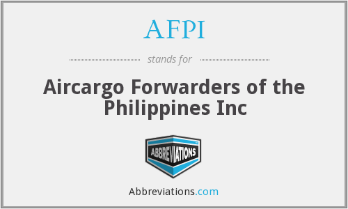 AFPI - Aircargo Forwarders of the Philippines Inc
