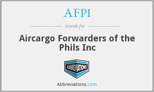 AFPI - Aircargo Forwarders of the Phils Inc