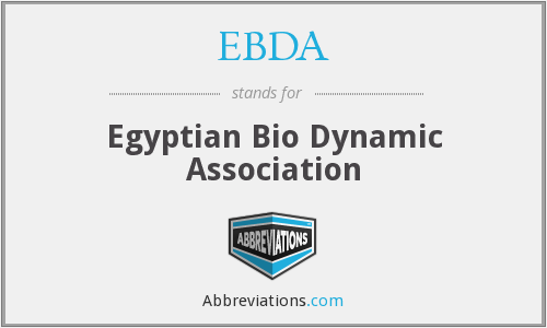 EBDA - Egyptian Bio Dynamic Association