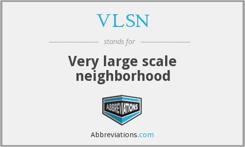 What does VLSN stand for?