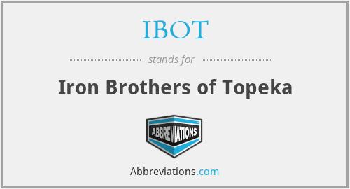IBOT - Iron Brothers of Topeka
