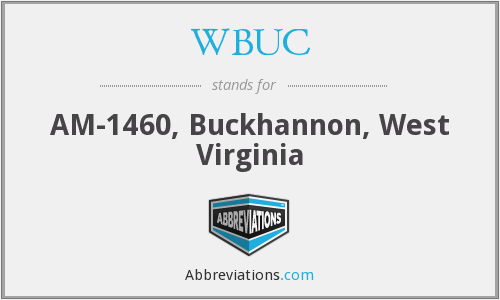 WBUC - AM-1460, Buckhannon, West Virginia