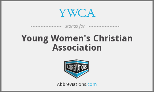 What does YWCA stand for?