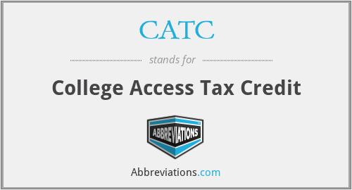 CATC - College Access Tax Credit