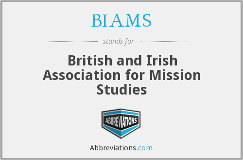 What does BIAMS stand for?