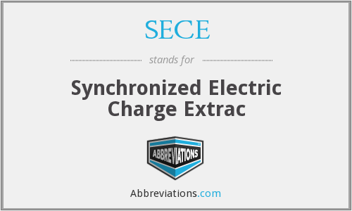SECE - Synchronized Electric Charge Extrac