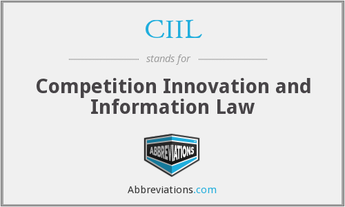 What does CIIL stand for?