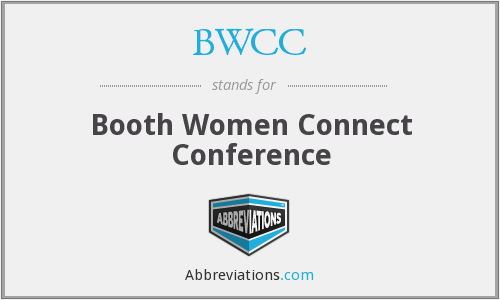 BWCC - Booth Women Connect Conference