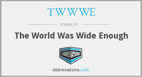 What does TWWWE stand for?