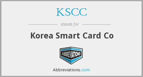 What does KSCC stand for?