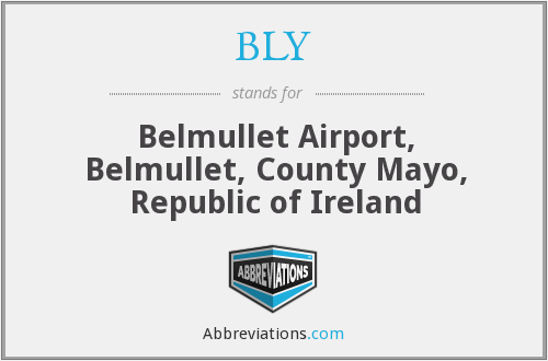 BLY - Belmullet Airport, Belmullet, County Mayo, Republic of Ireland