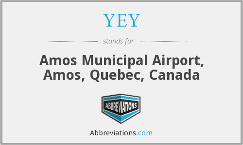YEY - Amos Municipal Airport, Amos, Quebec, Canada