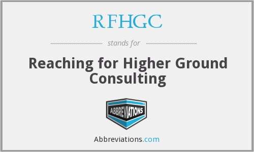 What does RFHGC stand for?