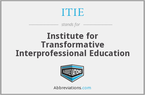 What does ITIE stand for?