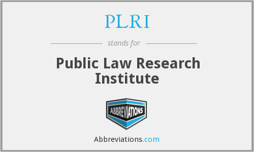 What does PLRI stand for?