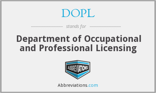 What does DOPL stand for?