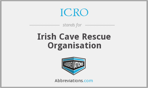 What does ICRO stand for?