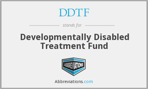 What does DDTF stand for?