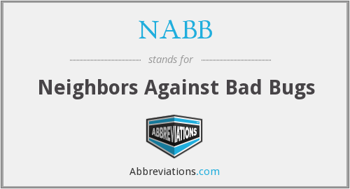 NABB - Neighbors Against Bad Bugs