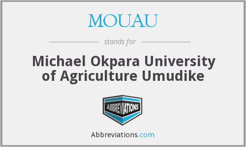 What does MOUAU stand for?