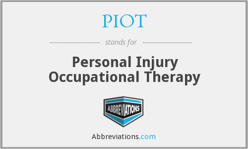 What does PIOT stand for?