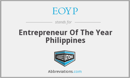 EOYP - Entrepreneur Of The Year Philippines