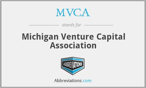 MVCA - Michigan Venture Capital Association