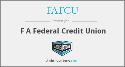 What does FAFCU stand for?