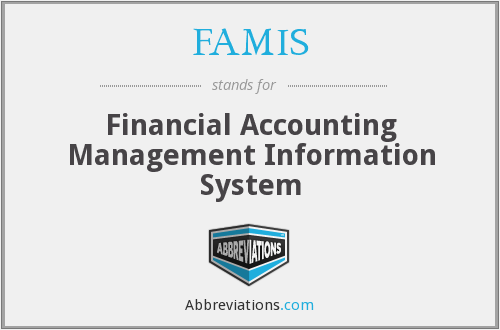 What does FAMIS stand for?