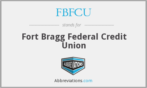 What does FBFCU stand for?