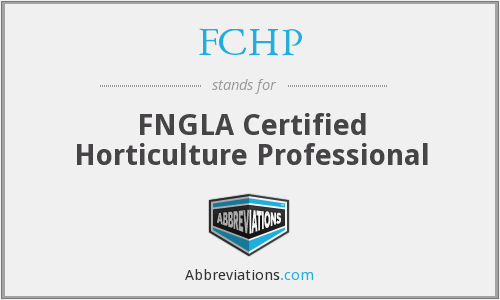 What does FCHP stand for?