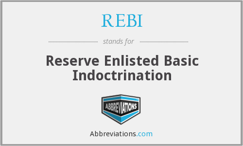 What does REBI stand for?
