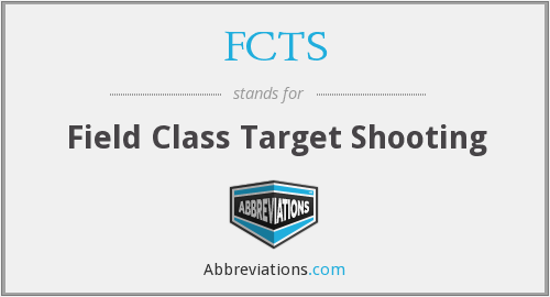 FCTS - Field Class Target Shooting