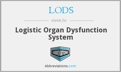 LODS - Logistic Organ Dysfunction System