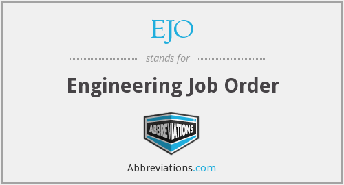 What does EJO stand for?