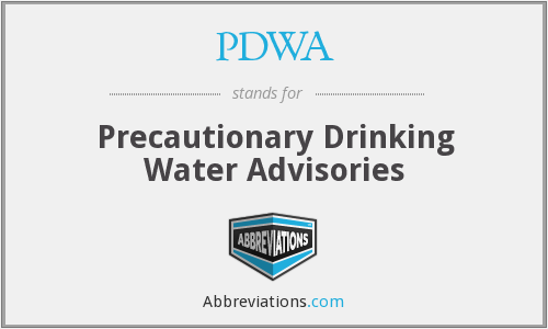 What does PDWA stand for?