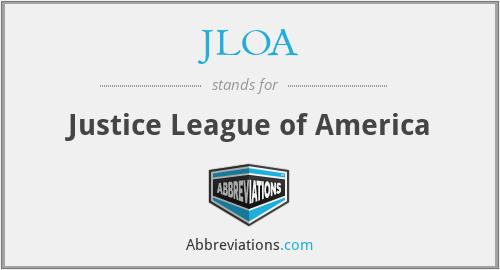 JLOA - Justice League of America