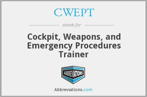 What does CWEPT stand for?
