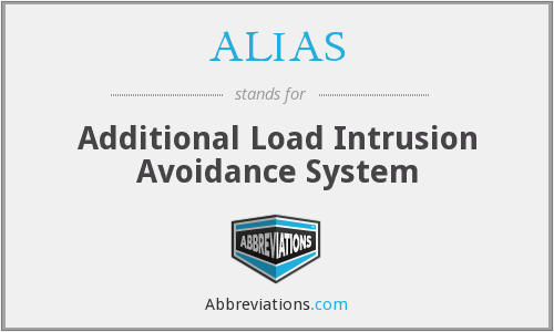 ALIAS - Additional Load Intrusion Avoidance System
