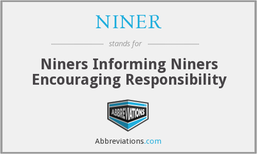 What does NINER stand for?