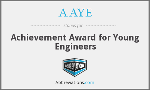 What does AAYE stand for?