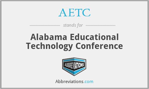 AETC - Alabama Educational Technology Conference