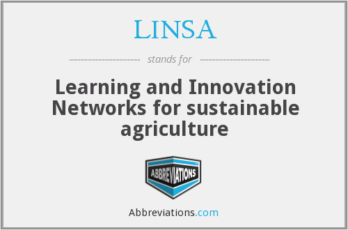 What does LINSA stand for?