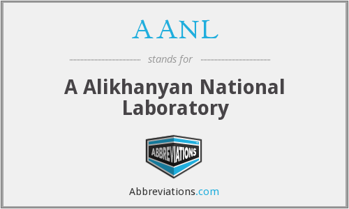 What does AANL stand for?