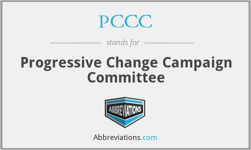 PCCC - Progressive Change Campaign Committee